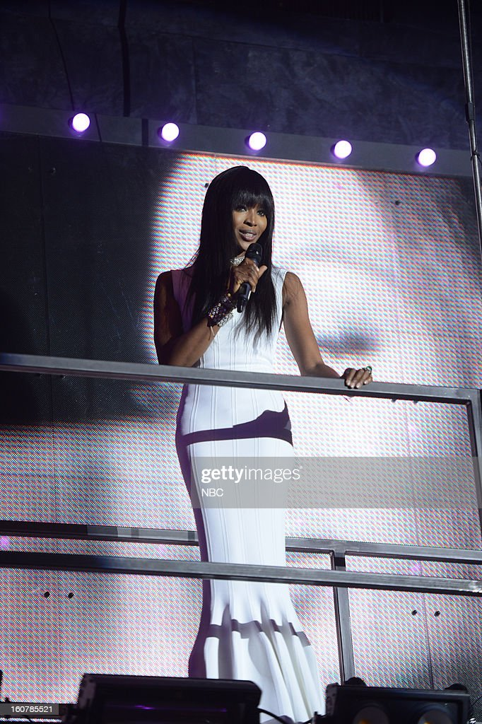 EVENTS -- 'The Face' Premiere Party and Upfront 2013 -- Pictured: Naomi Campbell --