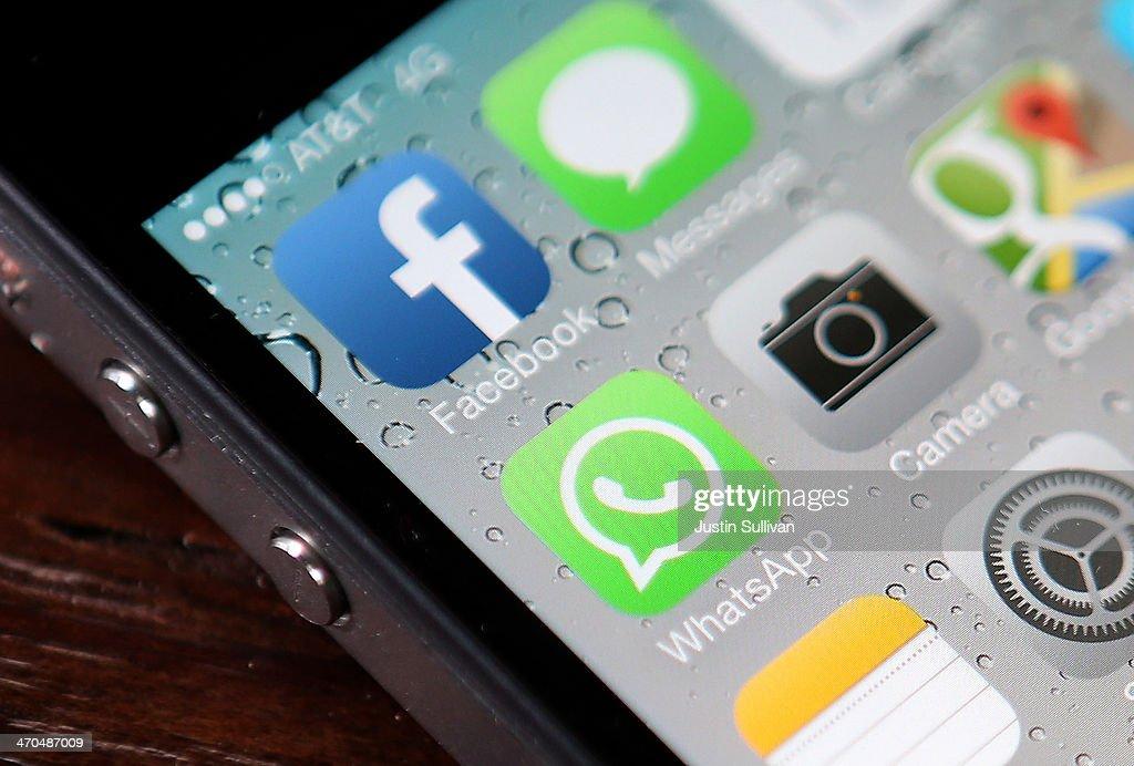 Fackbook Acquires WhatsApp For $16 Billion : Fotografia de notícias