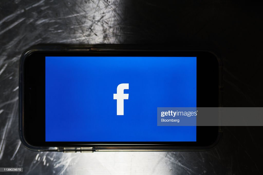 NY: Facebook Inc. Illustrations As Analysts Expect Earnings Will Reinforce Stock's Rebound