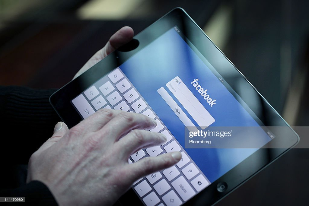 Facebook Said Set to Finish Taking Orders For IPO Tomorrow : News Photo