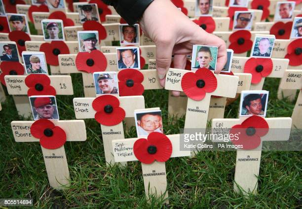 The faces of the five British soldiers who died in Afghanistan on Tuesday Corporal Steven Boote Warrant Officer Class 1 Darren Chant Sergeant Matthew...