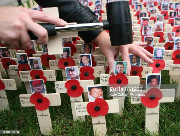 The faces of the five British soliders who died in Afghanistan on Tuesday Corporal Steven Boote Warrant Officer Class 1 Darren Chant Sergeant Matthew...