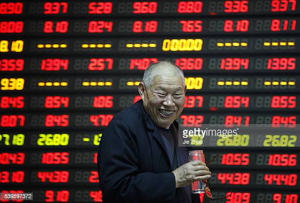 The facial expression of investors shows on a stock exchange in Huaibei March 30th 2015China stocks surged to sevenyear highs on Monday on hopes that...