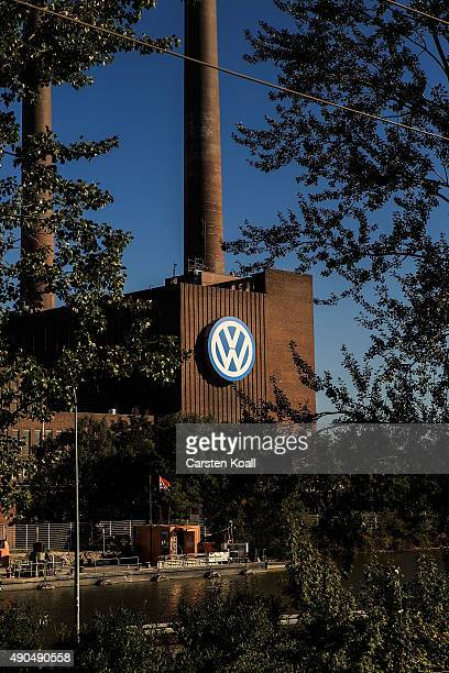 The factory of German carmaker Volkswagen on September 28 2015 in Wolfsburg Germany Wolfsburg was initially built by authorities under Nazi Germany...