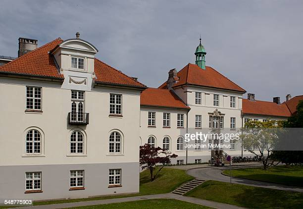 The Faculty of Health Science at Aarhus University in Denmark Taken on 18 May 2014 This building was a maternity ward built in 1910 before it was...