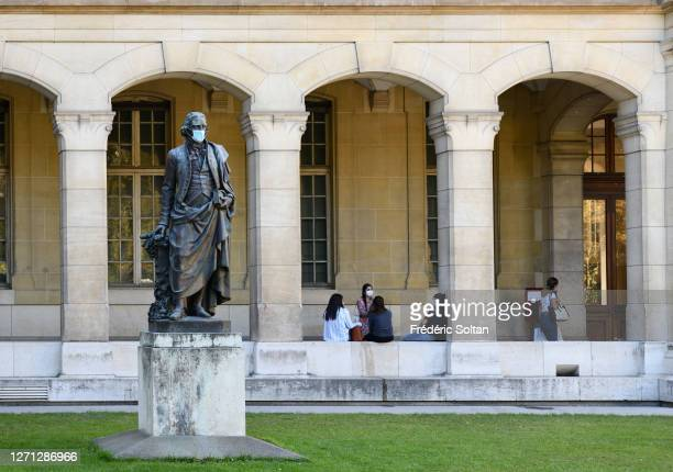 The faculty of Pharmacy in Paris on September 04, 2020 in Paris, France.