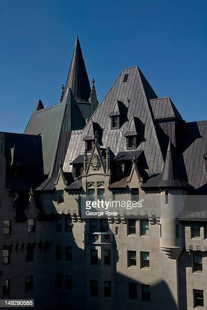 The Fairmont Chateau Laurier Hotel is viewed on June 30 2012 in Ottawa Canada Ottawa the captial of Canada is the fourth largest city in the nation...