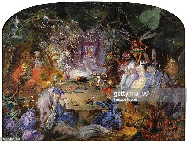 The Fairy's Banquet c 1858 Private Collection Artist Fitzgerald John Anster