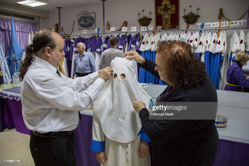 ESP: Easter Procession In Hospitalet De Llobregat