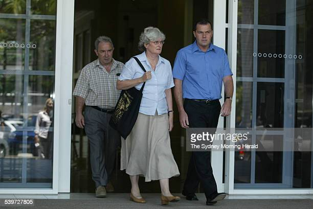 FALCONIO CASE The Falconio family from left Luciano Joan and Nick leave the NT Supreme court after hearing Bradley Murdoch cross examined by the...
