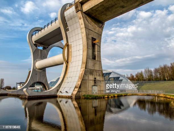 the falkirk wheel - moment of silence stock pictures, royalty-free photos & images