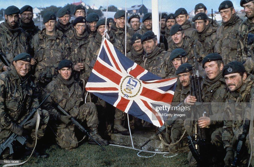 The Falklands Conflict, April - June 1982 : News Photo