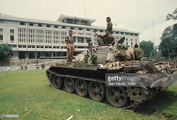 The Fall of Ho Chi Minh Vietnam in April 1975Assault on Presidential Palace