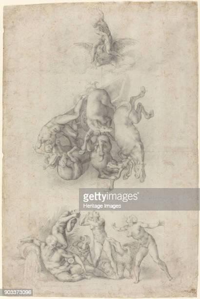 The Fall of Phaëthon Found in the Collection of Civica Raccolta delle Stampe Archille Bertarelli