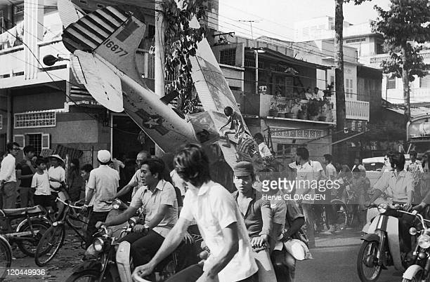 The Fall of Saigon in Vietnam on April 29 1975 Having likely been short on fuel a plane crashed in the suburbs of Saigon probably in an attempt to...