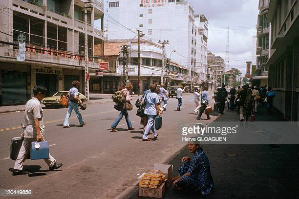 The Fall of Saigon in Vietnam on April 29 1975 The last American journalist leave Saigon