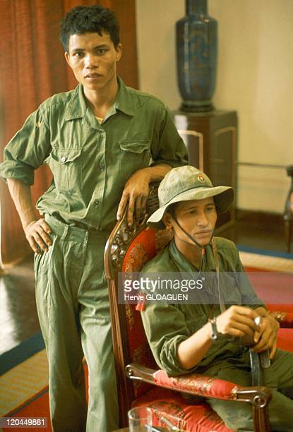 The Fall of Saigon in Vietnam on April 30 1975 The liberation of Doc Lap palace
