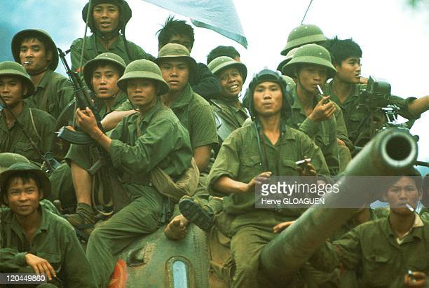 The Fall of Saigon in Vietnam on April 30 1975 The liberation of Saigon