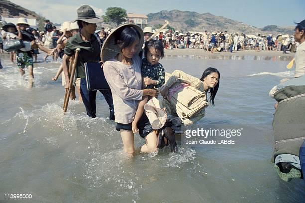 The Fall of Saigon, Vietnam in April, 1975-Exodus.