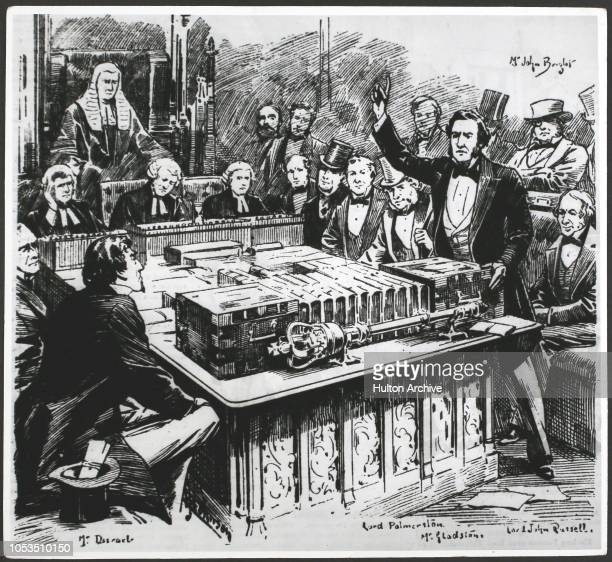 The fall of The Conservative Parliament of 18471852 Mr William Gladstone's attack on the first Budget delivered by Benjamin Disraeli in the House Of...