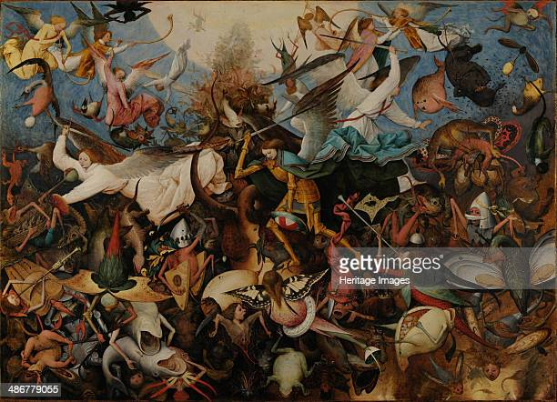 The Fall of the Rebel Angels 1562 Artist Bruegel Pieter the Elder