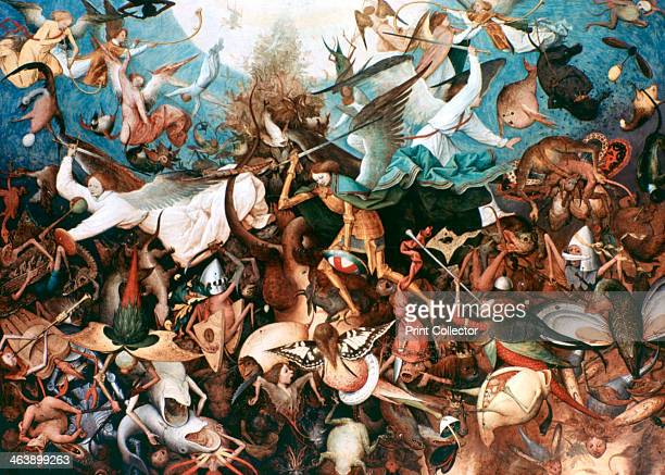 'The Fall of the Rebel Angels' 1562 From the collection of the Musee des BeauxArts de Belgique Brussels