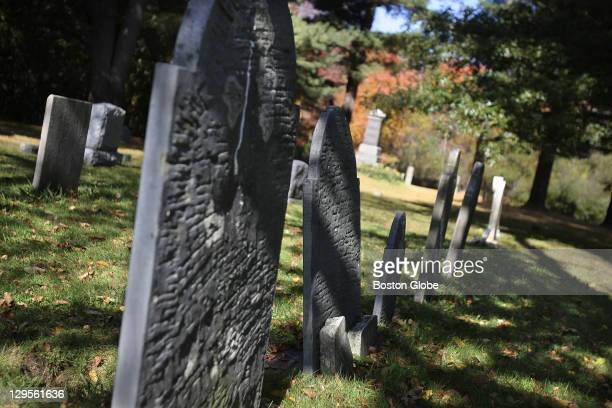 The family burying ground at the Rebecca Nurse Homestead Forty of Nurse's neighbors believed Nurse's plea of innocence and signed a petition...