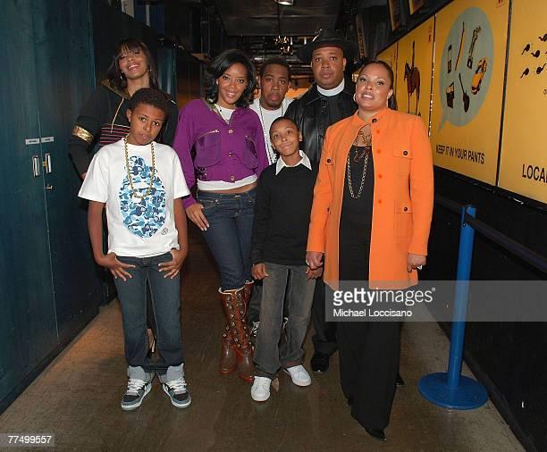 The family cast of Run's House Vanessa Simmons Daniel Diggy Simmons Angela Simmons JoJo Simmons Russel Russy Simmons Reverend Run Simmons and Justine...