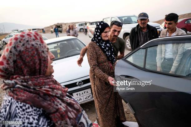 The family of a Syrian woman from Qamishli says Turkish airstrikes caused her to loose her hearing as she and other Syrian refugees who are fleeing...