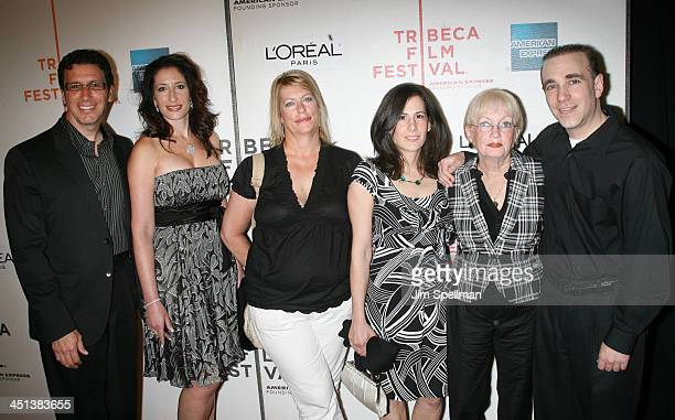 The family of Adrienne Shelly attend the 8th Annual Tribeca Film Festival Serious Moonlight premiere at BMCC Tribeca Performing Arts Center on April...