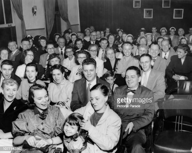 The family of American actress and singer Doris Day attend a special screening of her latest film 'By the Light of the Silvery Moon' in Cincinnati...