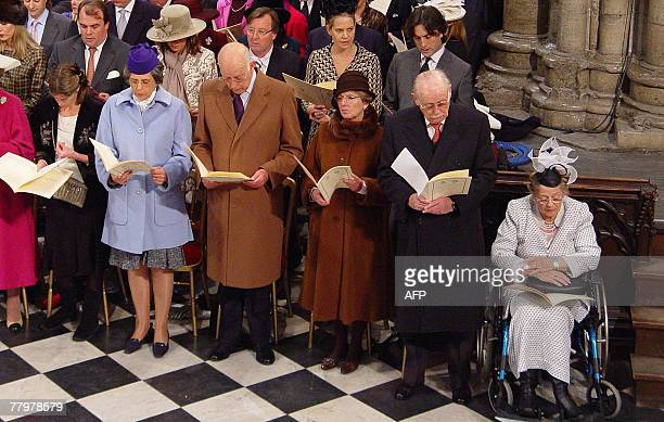 The family of Britain's Prince Philip from Baden Princess Ludwig of Baden Prince Ludwig of Baden The Margarive of Baden the Margrave of Baden and the...
