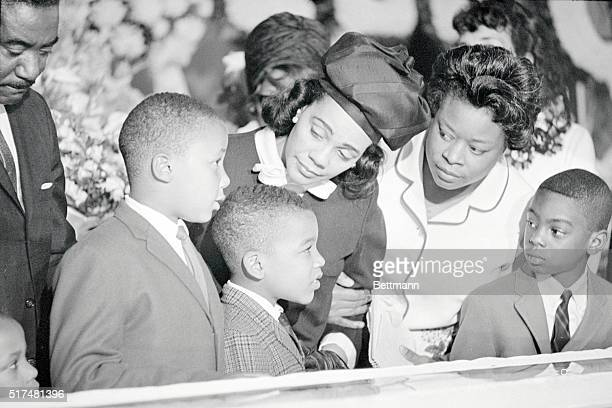 The family of Dr. Martin Luther King, Jr., was among the many thousands of parents that went to the Sister's Chapel on the Spelman College campus...