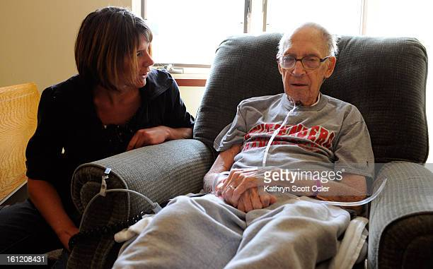 The family of Herbert Stevens Jr talk about his case of Listeria as he recuperates at the Johnson Center in Centennial Stevens' granddaughter Brooke...