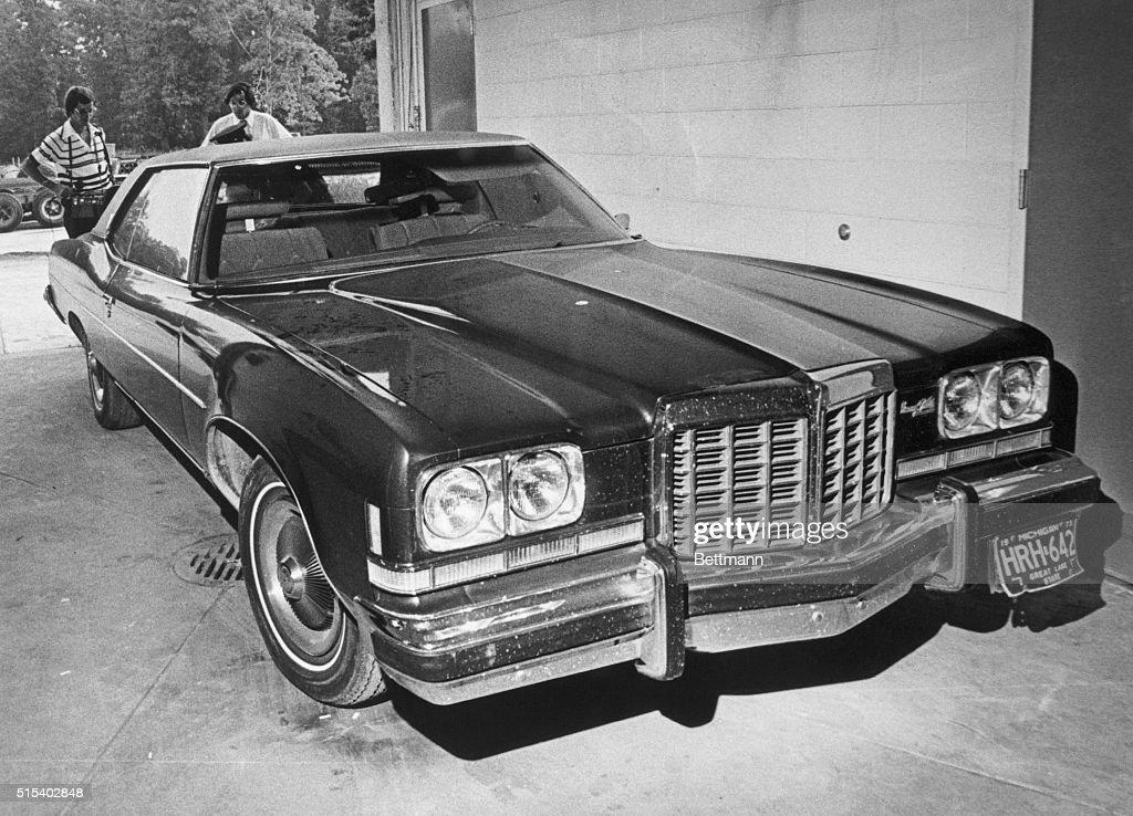 James Hoffa's Car : Nachrichtenfoto