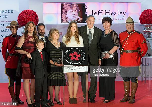 The family of Jeff Healey were on hand for the unveiling of his tile. Cristie Healey and son Derek were on hand. Canada's Walk of Fame inducted five...