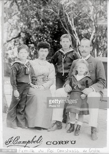 The Family of King Constantine I of Greece.