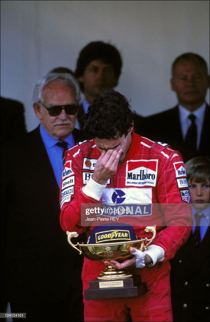 The Family of Monaco at Formula 1 Grand Prize In Monaco city, Monaco On May 23, 1993 - Ayrton Senna.