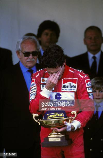 The Family of Monaco at Formula 1 Grand Prize In Monaco city Monaco On May 23 1993 Ayrton Senna