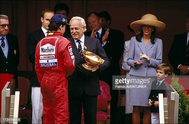 The Family Of Monaco Grand Prix F1 On May 07th 1989 In MonacoMonaco