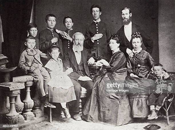 The family of Russian author and playwright Anton Chekhov Taganrog Russia 1874 Chekhov is regarded as one of Russia's finest playwrights and one of...