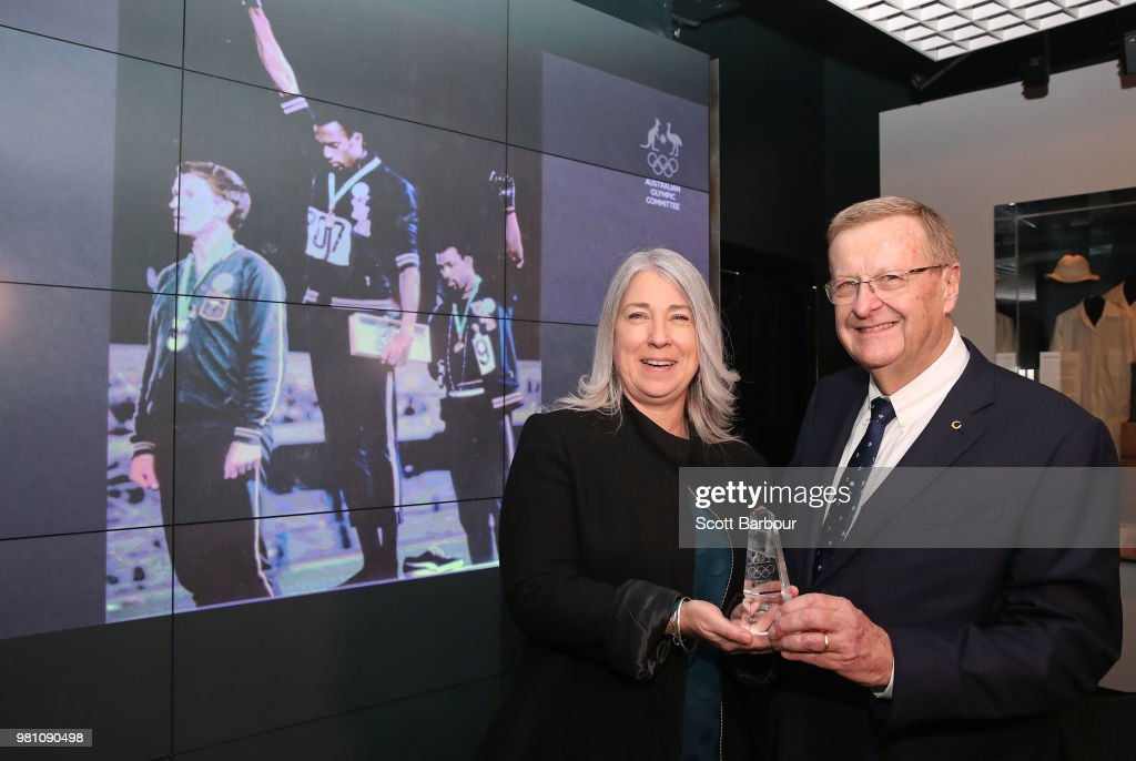 Posthumous Order Of Merit Presented To Family Of Peter Norman By AOC