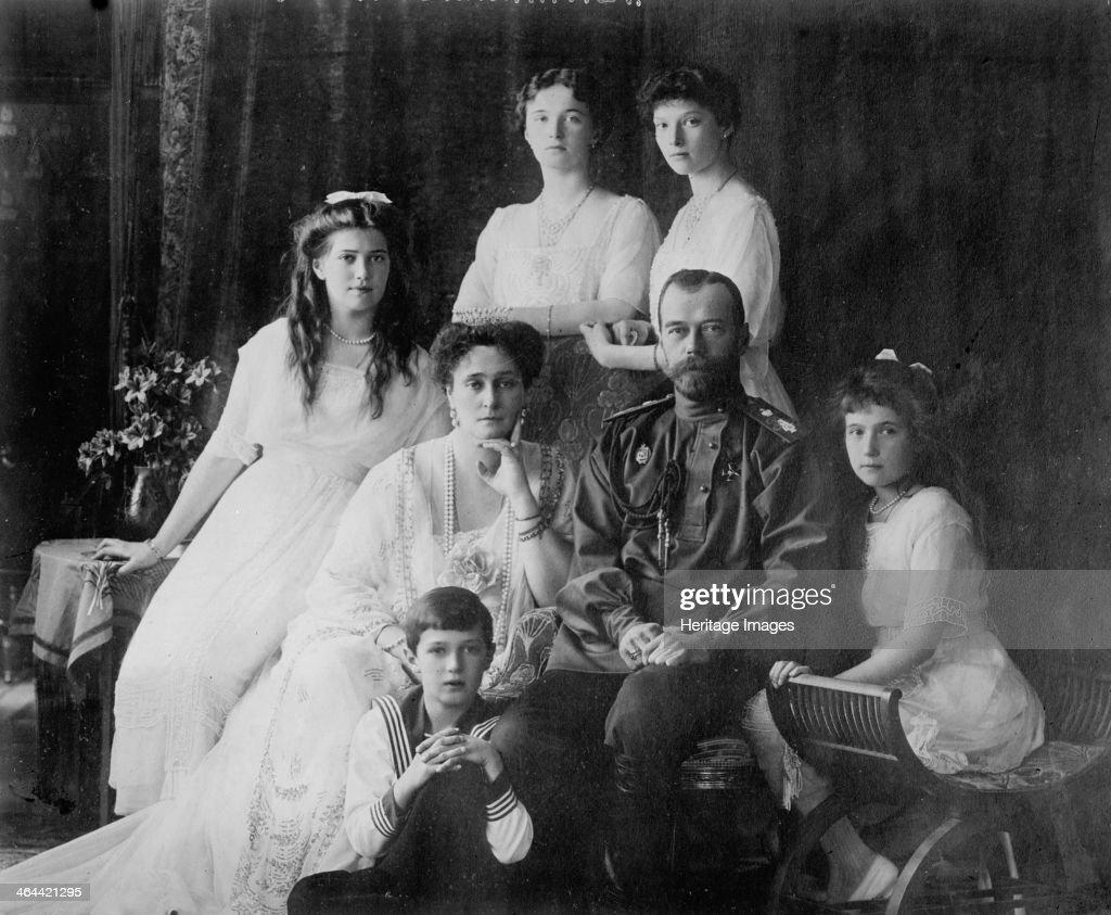 the family of tsar nicholas ii of russia 1910s the tsar tsarina