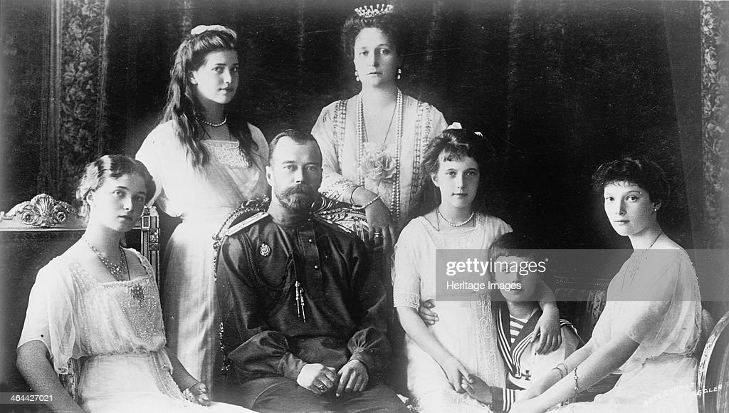 The Family of Tsar Nicholas II of Russia, 1910s. Artist: Anon : News Photo