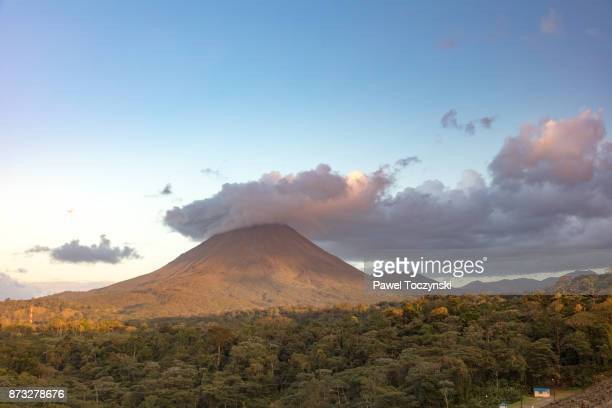 The famous Arenal Volcano in central Costa Rica (Alahuela province)