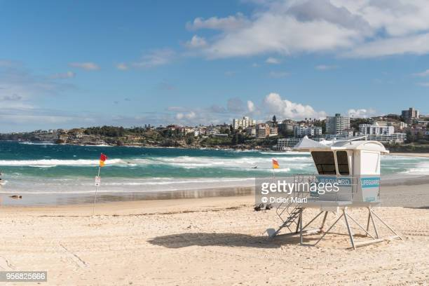 The famous Bondi beach in Sydney in Australia