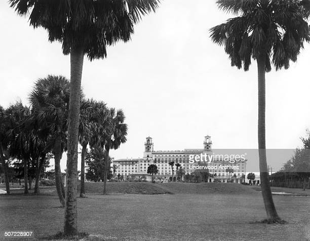The famous Breakers Hotel Palm Beach Florida mid to late 1920s