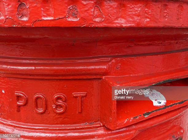 The famous British postbox