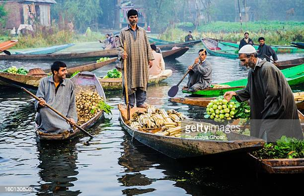 CONTENT] The famous floating vegetable market at Dal lake in Kashmir only one of its kinds in India Farmers with their vegetable laden shikaras are...