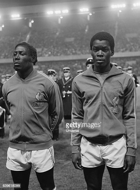 The famous French central defenders JeanPierre Adams and Marius Tresor